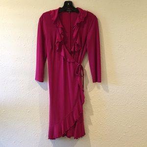 Nine West Wrap-Dress, size 8 —excellent condition